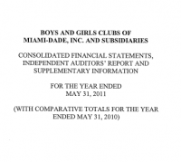 Financial Report 2011