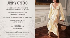 Jimmy Choo Supporting Boys & Girls Clubs of Miami-Dade!