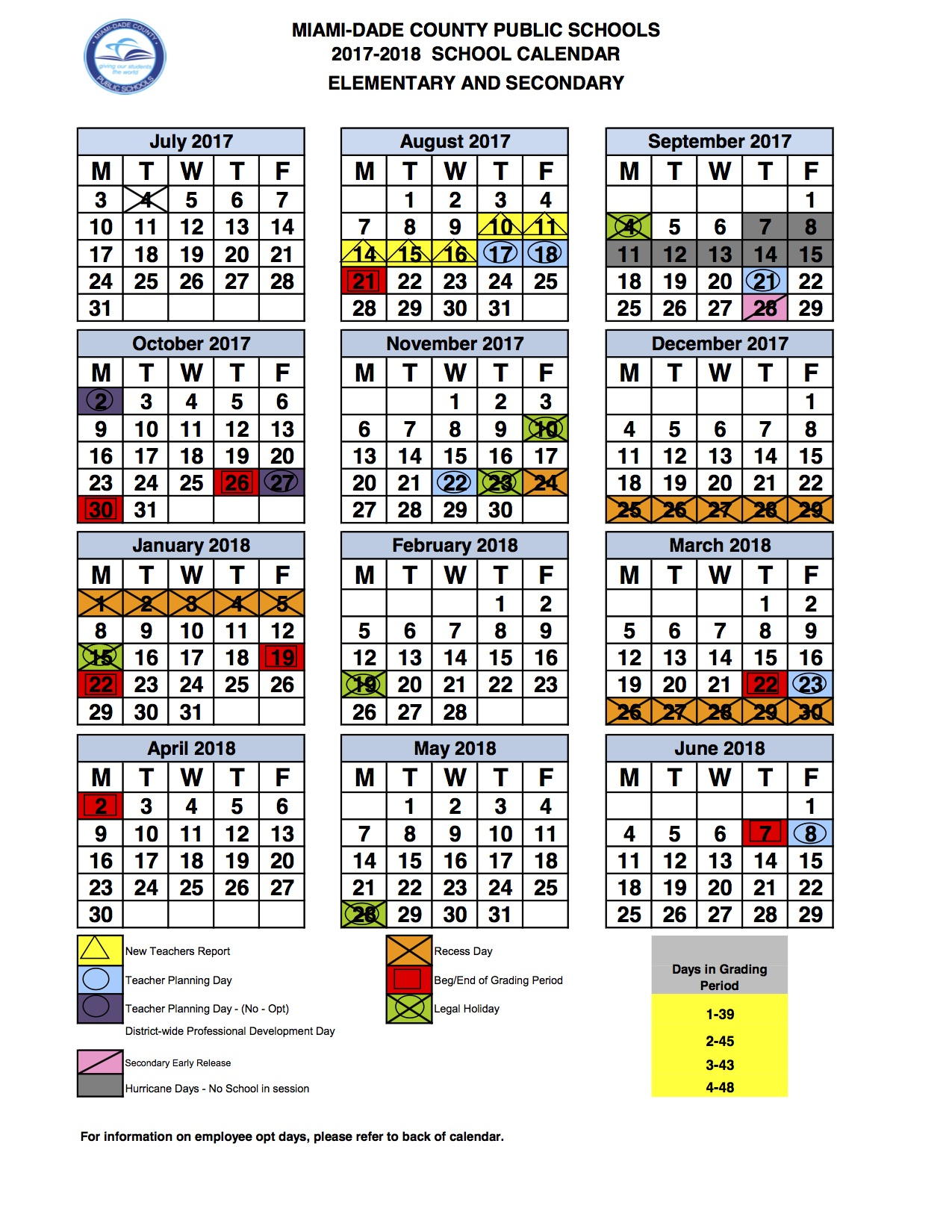 Miami Dade Calendar 2019 2017 2018 calendar   Boys & Girls Clubs of Miami Dade